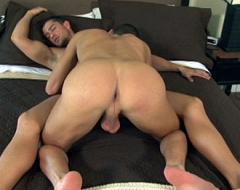 Horny dudes in hot action