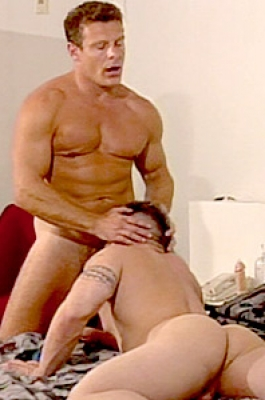 Two handsome guys sucking and fucking
